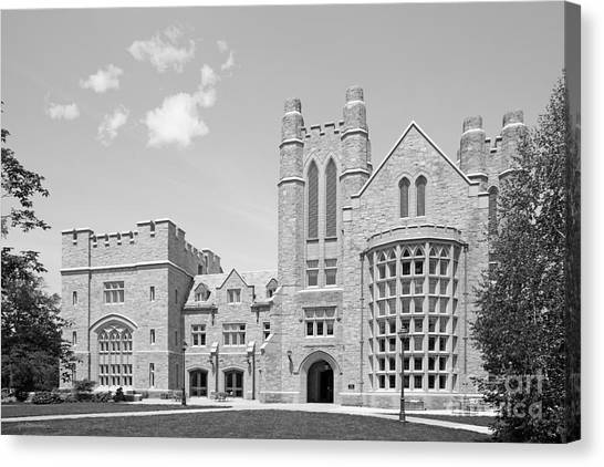 Connecticut Canvas Print - University Of Connecticut School Of Law Meskill Law Library by University Icons