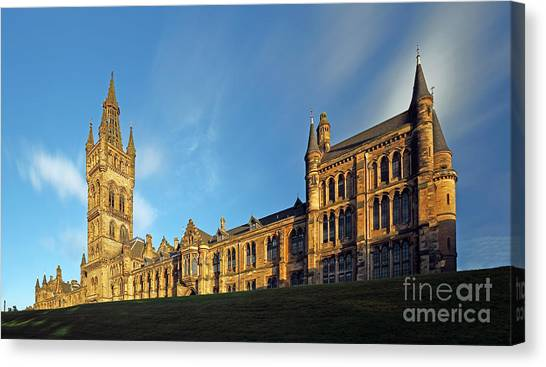 University Of Glasgow Canvas Print