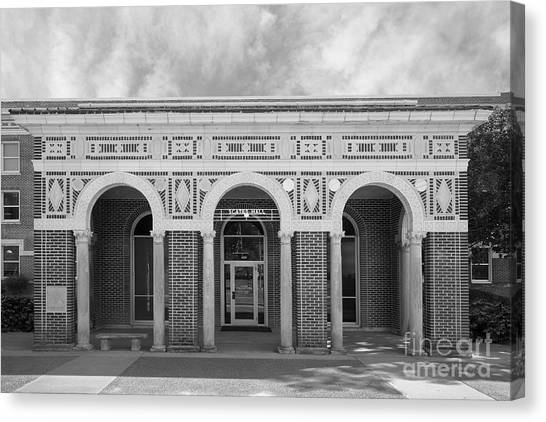 University Of Memphis Canvas Print - University Of Memphis Scates Hall by University Icons