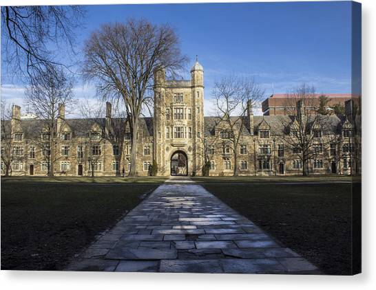 Arbor Canvas Print - University Of Michigan Campus by John McGraw