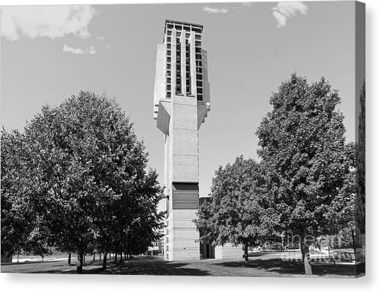 Arbor Canvas Print - University Of Michigan Lurie Bell Tower by University Icons