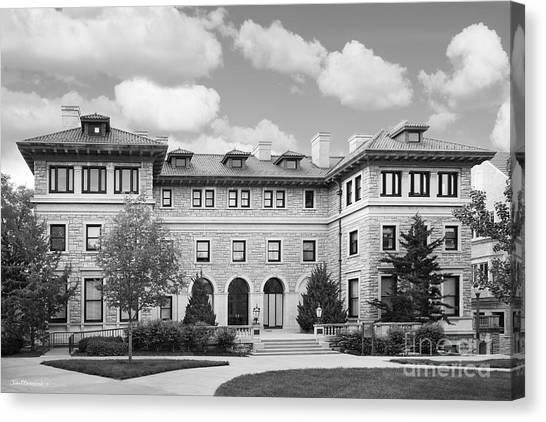 University Of Missouri Canvas Print - University Of Missouri Kansas City Scofield Hall by University Icons