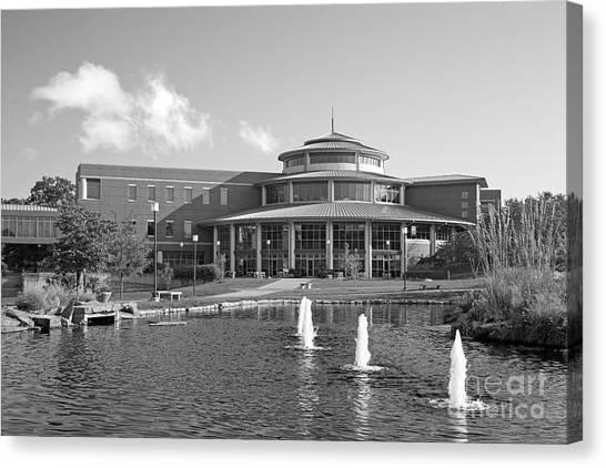 University Of Missouri Canvas Print - University Of Missouri St. Louis Millennium Student Center by University Icons