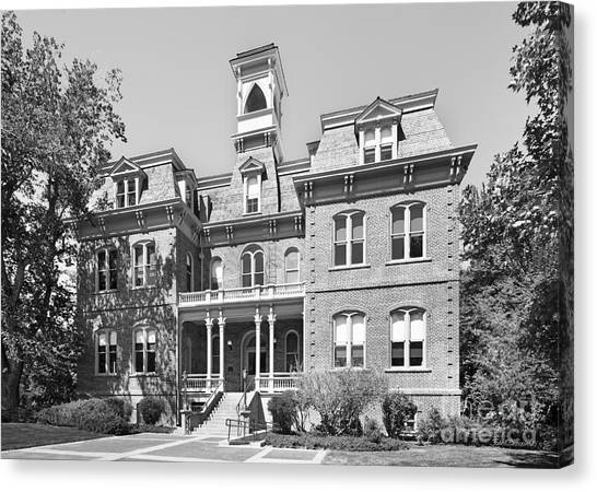 Mountain West Canvas Print - University Of Nevada Reno - Morrill Hall by University Icons