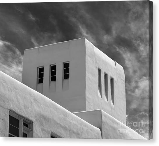 University Of New Mexico Unm Canvas Print - University Of New Mexico Mesa Vista Hall by University Icons