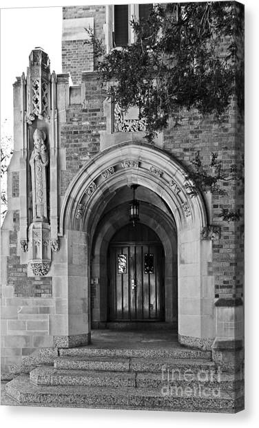 Big East Canvas Print - University Of Notre Dame by University Icons