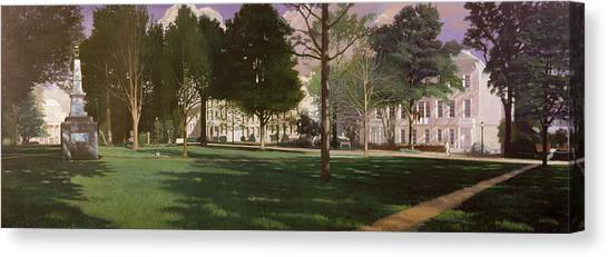 Sec Canvas Print - University Of South Carolina Horseshoe 1984 by Blue Sky