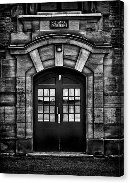 University Of Toronto Mechanical Engineering Building Canvas Print