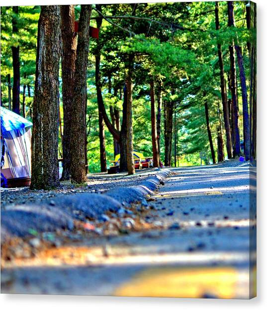 Unknown Destination Canvas Print