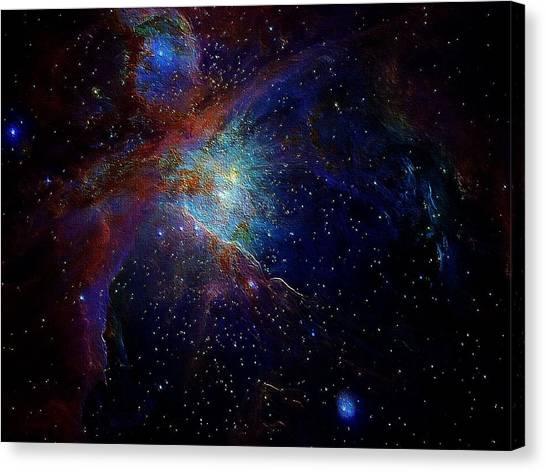 Unknown Distant Worlds Canvas Print