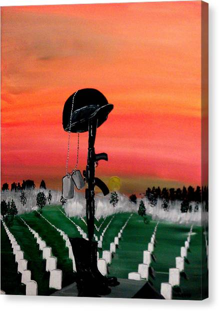 Missles Canvas Print - Unknown Hero by Mark Moore