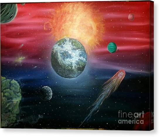 Unknown Canvas Print by Rick  Gazdik