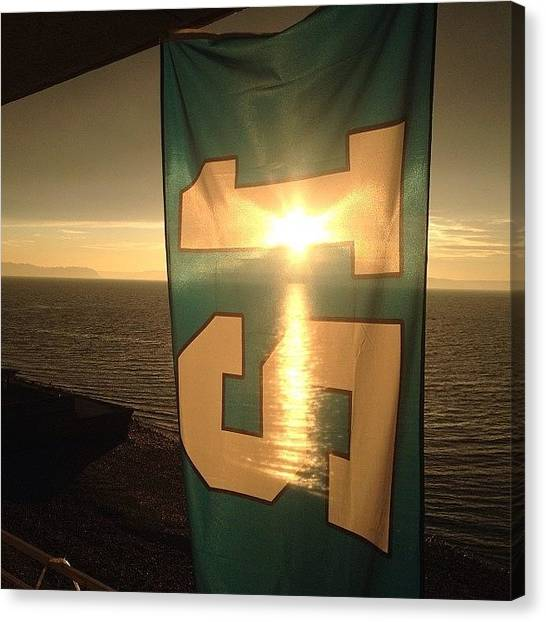 Seattle Seahawks Canvas Print - Until Next Time Seattle! Your Always So by Tyler Mallory