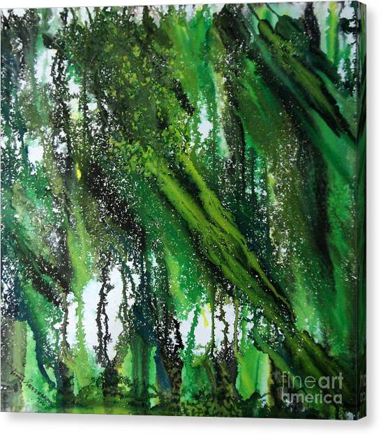 Forest Of Duars Canvas Print