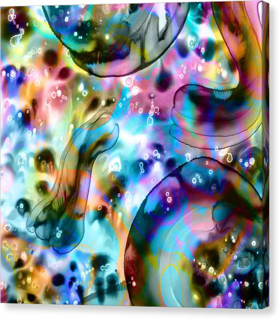 Molecules And Mankind Canvas Print