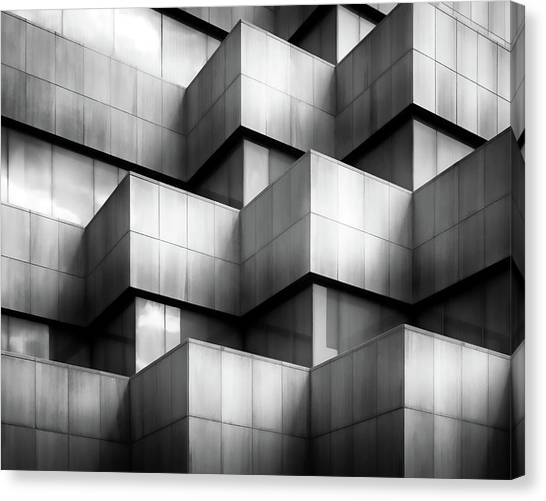 Grid Canvas Print - Untitled #68 by Gary E. Karcz