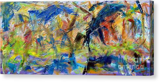 Untitled Abstract #2 Canvas Print by Greg Mason Burns