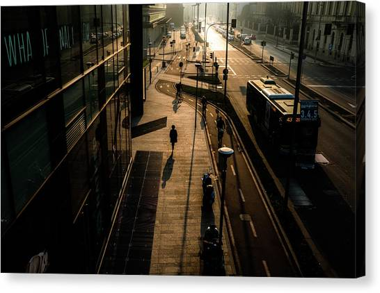 Traffic Canvas Print - Untitled by Alessandro L.