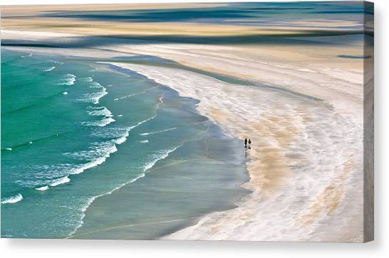 Shore Canvas Print - Untitled by Anuska Voncina