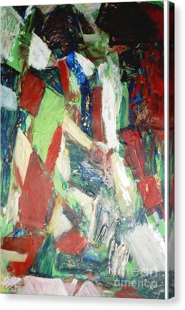 Untitled Compositionii Canvas Print