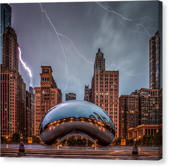 Thunderstorms Canvas Print - Untitled by Cory Dewald