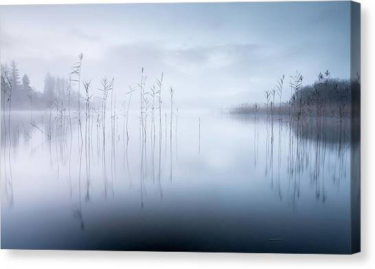 Long Exposure Canvas Print - Untitled by David Ahern