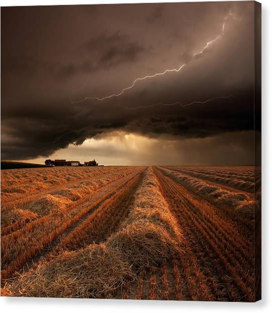 Thunderstorms Canvas Print - Untitled by Franz Schumacher