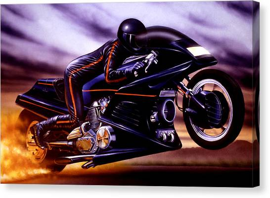 Accelerate Canvas Print - Untitled by Garry Walton