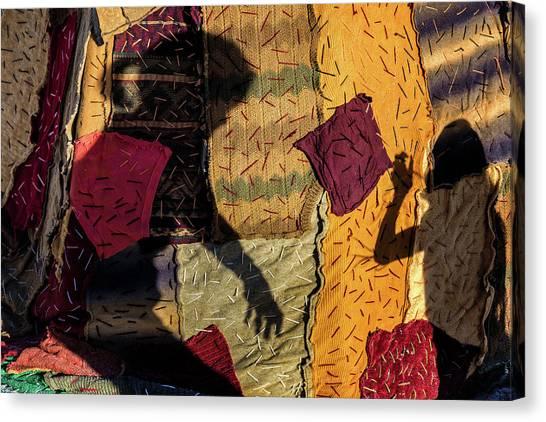 Texture Canvas Print - Untitled by Gloria Salgado Gispert