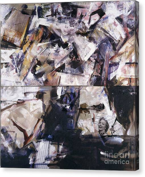 Untitled I '90 Canvas Print