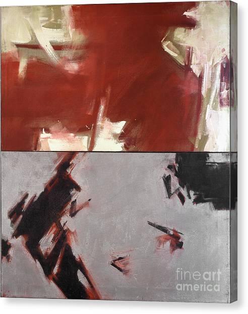 Untitled I '91 Canvas Print