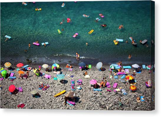 Vacation Canvas Print - Untitled by Lorenzo Grifantini