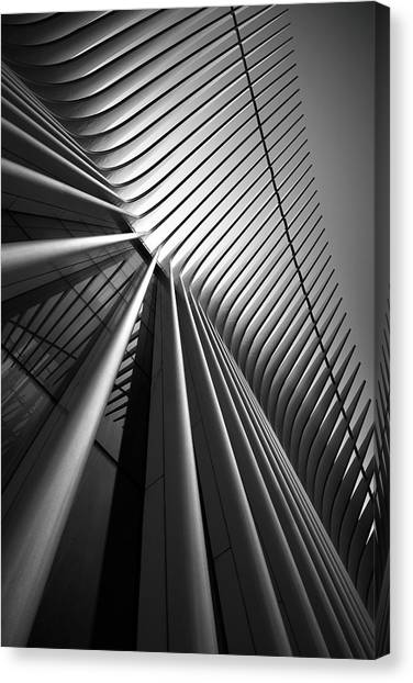 Manhattan Canvas Print - Untitled by Louis-philippe Provost