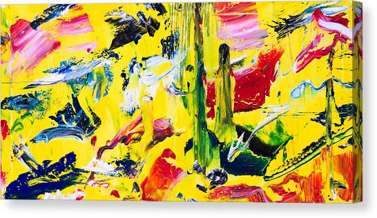 Untitled Number Twenty Canvas Print