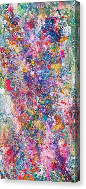 Untitled Number Twenty Seven Canvas Print