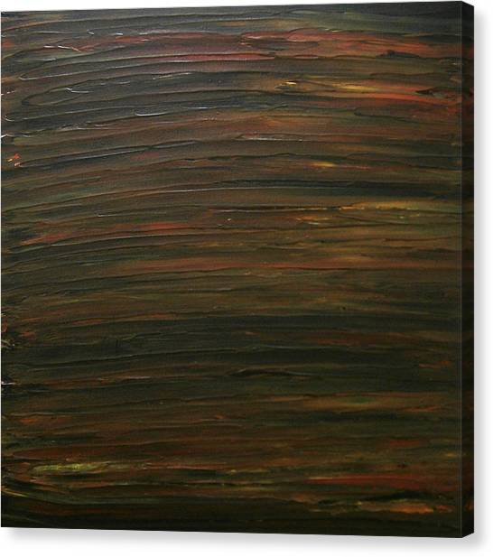 Untitled Painting 21 Canvas Print by Drew Shourd