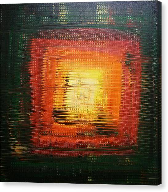 Untitled Painting 6 Canvas Print by Drew Shourd