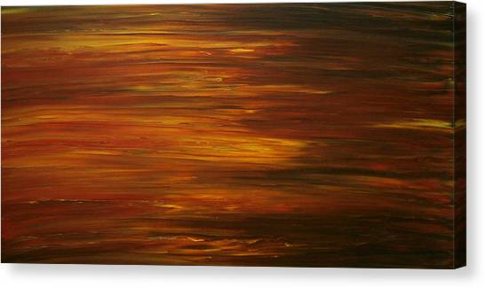 Untitled Painting 7 Canvas Print by Drew Shourd
