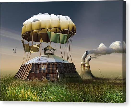 Hot Air Balloons Canvas Print - Untitled by Radoslav Penchev