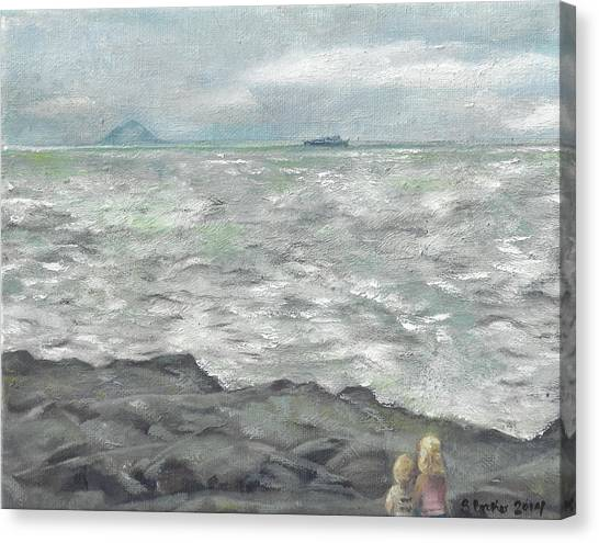 Untitled Seascape Canvas Print