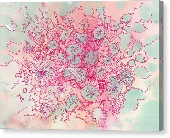 Untitled - #ss13dw040 Canvas Print by Satomi Sugimoto