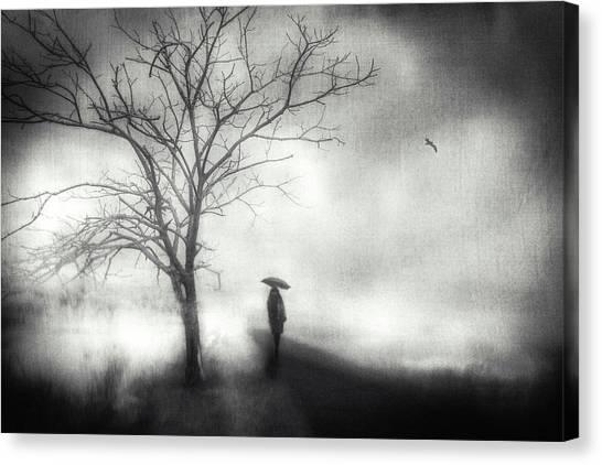 Mood Canvas Print - Untitled by Teruhiko Tsuchida