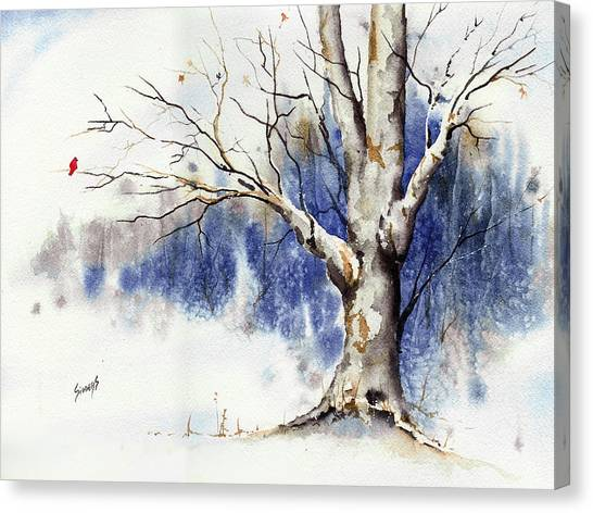 Untitled Winter Tree Canvas Print