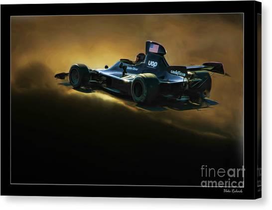 Uop Shadow F1 Car Canvas Print