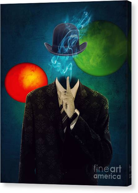 Up In Smoke Canvas Print