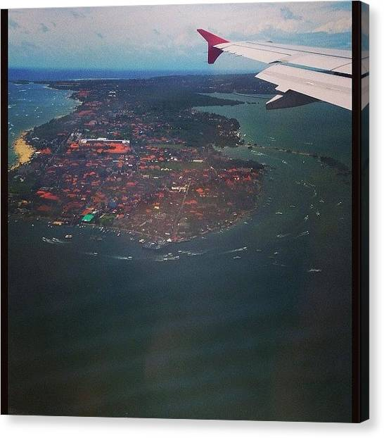 Backpacks Canvas Print - Up In The Air 'bali' #indonesia #bali by Dejavu Petch