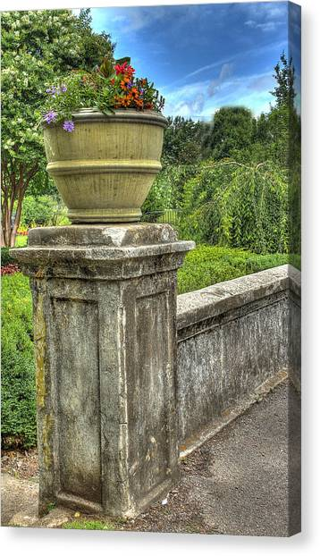 Up On A Pedestal  Canvas Print by Honour Hall