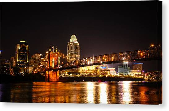 Up River Canvas Print