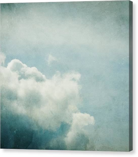 Cloud Canvas Print - Up There by Violet Gray