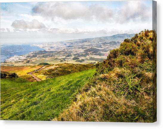 Up To The Top Canvas Print